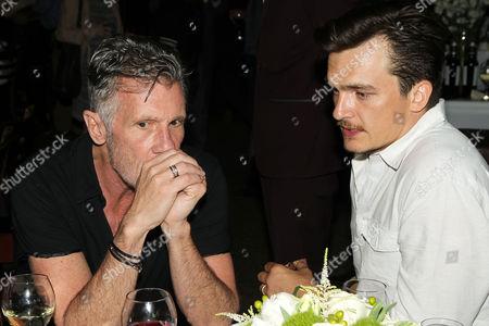 Michael Cunningham and Rupert Friend