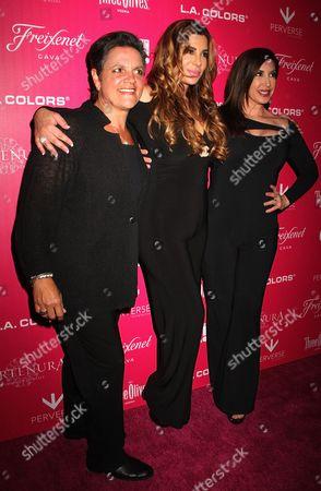 Rosie Pierri, Siggy Flicker, and Jacqueline Laurita