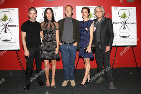 """Editorial picture of New York Special Screening of """"TIME TO CHOOSE"""", America - 01 Jun 2016"""
