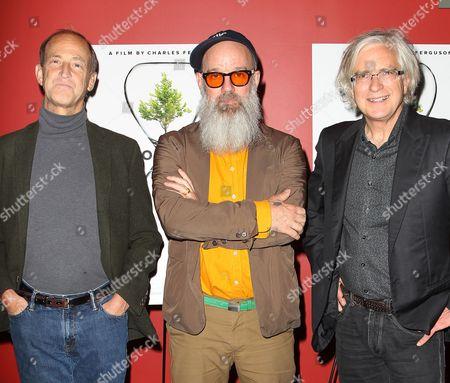 Charles Ferguson (Director), Michael Stipe and Tom Dinwoodie