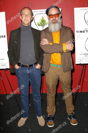 Stock Picture of Charles Ferguson (Director) and Michael Stipe