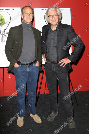 Stock Photo of Charles Ferguson (Director) and Tom Dinwoodie (Producer)