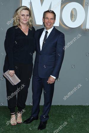 Justine Wheeler and Jeff Koons