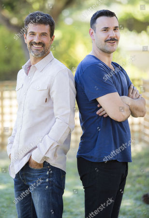 Stock Picture of Rodolfo Sancho and Miquel Fernandez