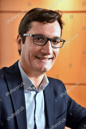 Editorial image of Olivier Dartigolles, French Communist Party spokesperson, Paris, France - 01 Jun 2016