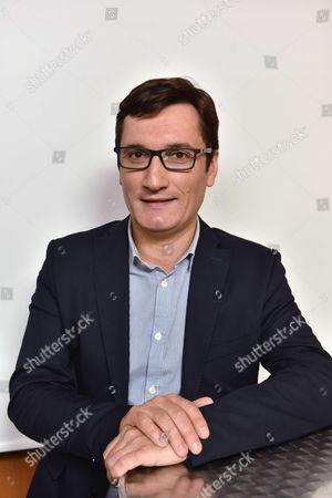 Editorial photo of Olivier Dartigolles, French Communist Party spokesperson, Paris, France - 01 Jun 2016
