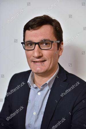 Editorial picture of Olivier Dartigolles, French Communist Party spokesperson, Paris, France - 01 Jun 2016