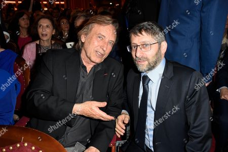 Alexandre Arcady and Haim Korsia