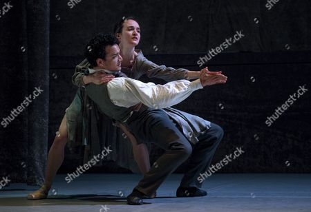 Stock Picture of Leading Soloist Dreda Blow and Premier Dancer Javier Torres perform the lead roles of Jane Eyre and Mr Rochester