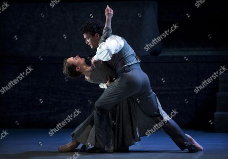 Stock Photo of Leading Soloist Dreda Blow and Premier Dancer Javier Torres perform the lead roles of Jane Eyre and Mr Rochester