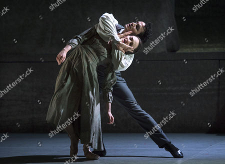 Stock Image of Leading Soloist Dreda Blow and Premier Dancer Javier Torres perform the lead roles of Jane Eyre and Mr Rochester