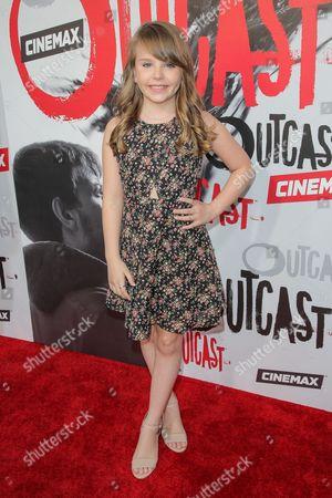Editorial photo of 'Outcast' TV series premiere, Los Angeles, America - 01 Jun 2016