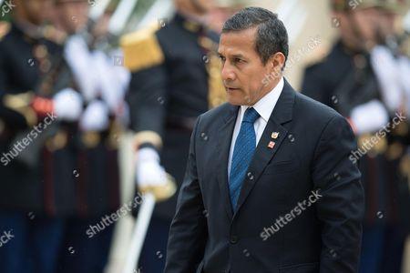 Stock Image of Ollanta Humala, President of Peru