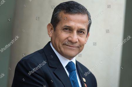 Editorial image of Peru's President Ollanta Humala Tasso visit to France - 01 Jun 2016