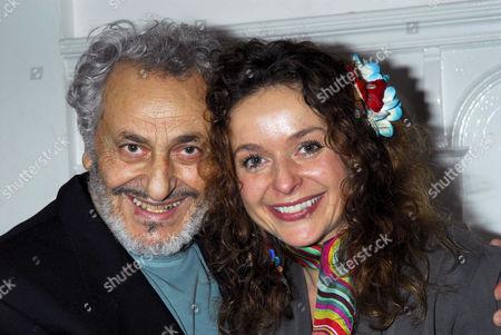 Nadim Sawalha and daughter Julia Sawalha