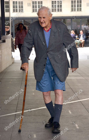Editorial picture of Peter Vaughan out and about, London, Britain - 27 May 2016