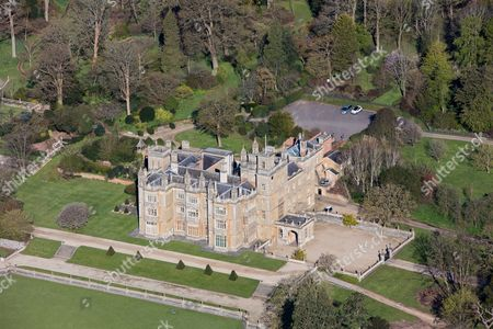Stock Picture of Englefield House owned by Conservative MP Richard Benyon, Englefield, Berkshire
