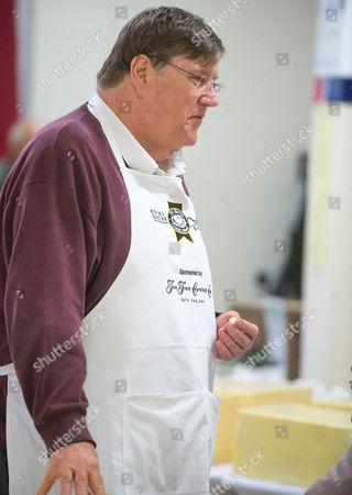 Food critic Charles Campion