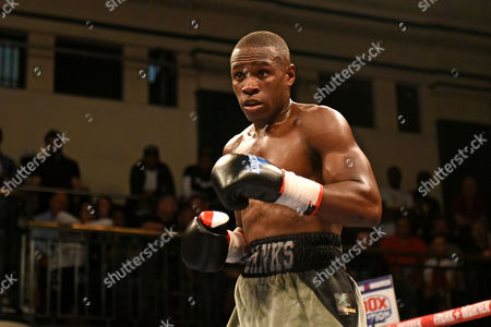 Nathanael Wilson defeats Liam Richards during a Boxing Show at York Hall on 10th June 2016
