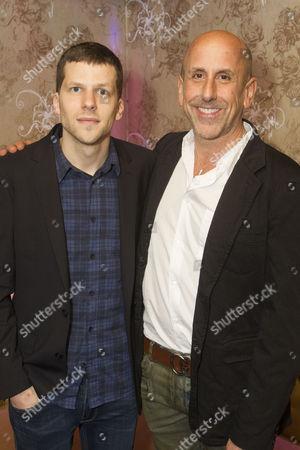 Jesse Eisenberg (Author/Ben) and Scott Elliott (Director)