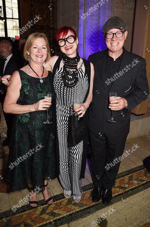 Ellen Burns, Gerri McGlone and Gerard Burns