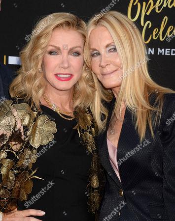 Donna Mills and Joan Van Ark