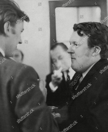 Willie Rushton (right) Actor At Wedding Reception Of Denny Dayvyss And Al Mancini. Box 643 12411153 A.jpg.