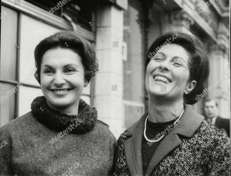 Editorial photo of Jean And Joan Burnstein Who Foiled A Wages Snatch In South Kensington. (for Full Caption See Version) Box 644 325111531 A.jpg.