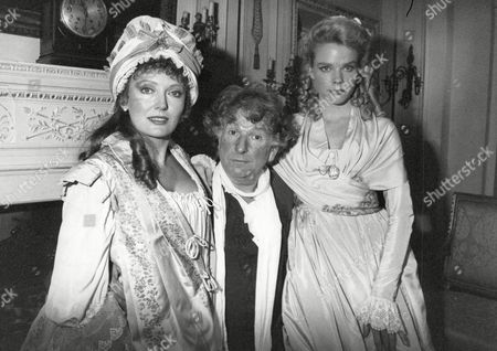 Editorial photo of Tv Programme: Haggard. Picture Shows L-r: Sarah Badel Keith Barron And Sara Crowe. Box 646 327111519 A.jpg.