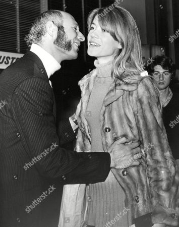 Francoise Hardy Singer/actress Arrives At London Airport (heathrow) From Paris And Is Met By Club Owner Louis Brown. Box 646 327111544 A.jpg.