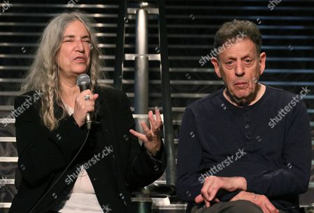 Patti Smith and Philp Glass