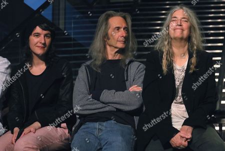 Jessie Smith, Lenny Kaye, Patti Smith
