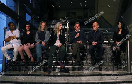 Tenzin Choegyal, Jessie Smith, Lenny Kaye, Patti Smith, Philip Glass, Joe Hisaishi Maki Namekawa