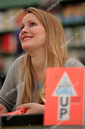 Laura Bates signs copies of her book 'Girl Up'