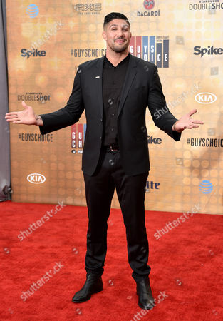 Editorial photo of Spike Guys Choice Awards, Arrivals, Los Angeles, America - 04 Jun 2016