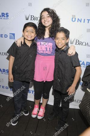 Stock Photo of Alexandria Suarez, Eduardo Hernanddez, Kevin Telloez