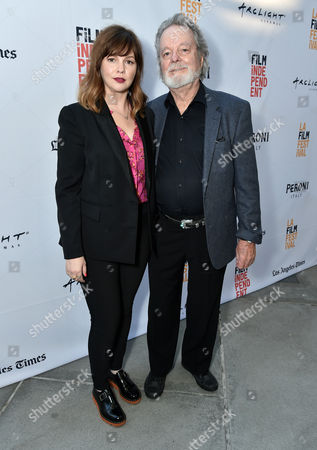 Amber Tamblyn and Russ Tamblyn