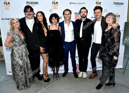 Stock Photo of Alfred Molina, Emily Rios, Alia Shawkat, Rhys Wakefield, Jesse Nolan, Rudy Dobrev and Glenda Glenn