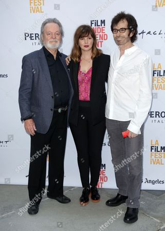 Russ Tamblyn, Amber Tamblyn and George Chakiris