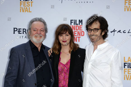 Russ Tamblyn, Amber Tamblyn and George Chakiris