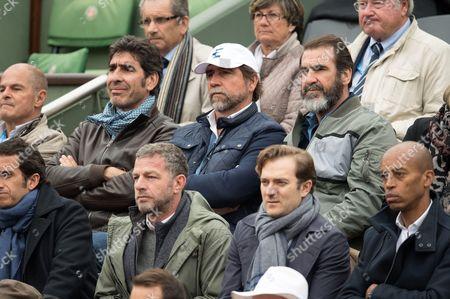 Brothers Cantona: Joel Cantona, Jean-Marie Cantona and Eric Cantona