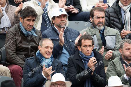 Stock Photo of Brothers Cantona: Joel Cantona, Jean-Marie Cantona and Eric Cantona