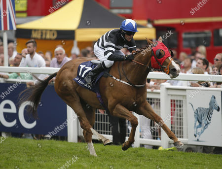 BLAIN and Kieren Fallon Wins The Investec Asset Management Stakes for Trainer Dandy Nicholls. DERBY DAY at Epsom Downs Racecourse
