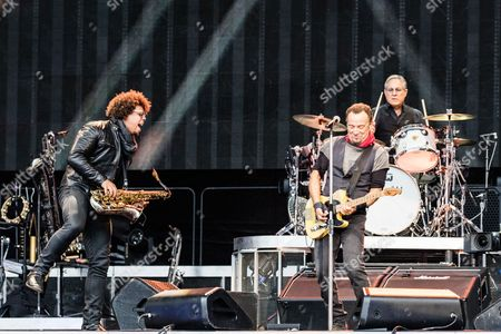 Jake Clemons and Bruce Springsteen
