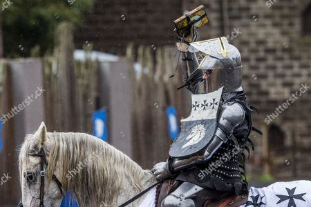 Editorial photo of Keith Ryall Memorial Jousting at Kryal Castle, Ballarat, Australia - 04 Jun 2016