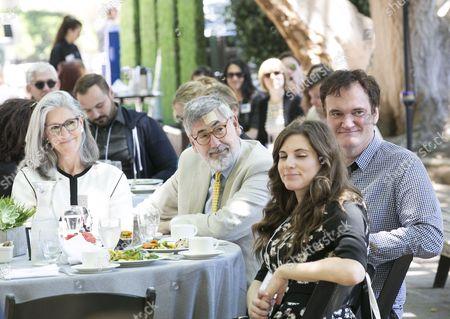 Deborah Nadoolman Landis, John Landis, Courtney Hoffman, Quentin Tarantino
