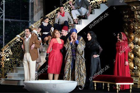 Bozidar Smiljanic as Haly, Ezgi Kutlu as Isabella, Quirijn de Lang as Mustafa, Mary Bevan as Elvira, Katie Bray as Zulma