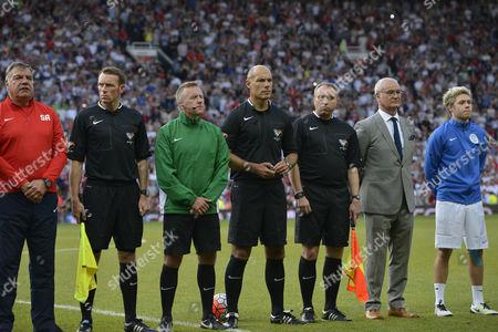 Howard Webb, Claudio Ranieri, Niall Horan