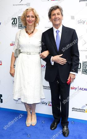 Debbie Moore and Melvyn Bragg