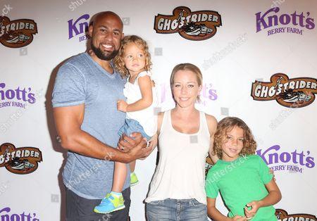 Hank Baskett, Kendra Wilkinson and Alijah Baskett